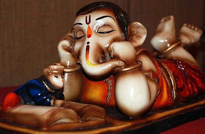 What's in a name, Ganesha has 108