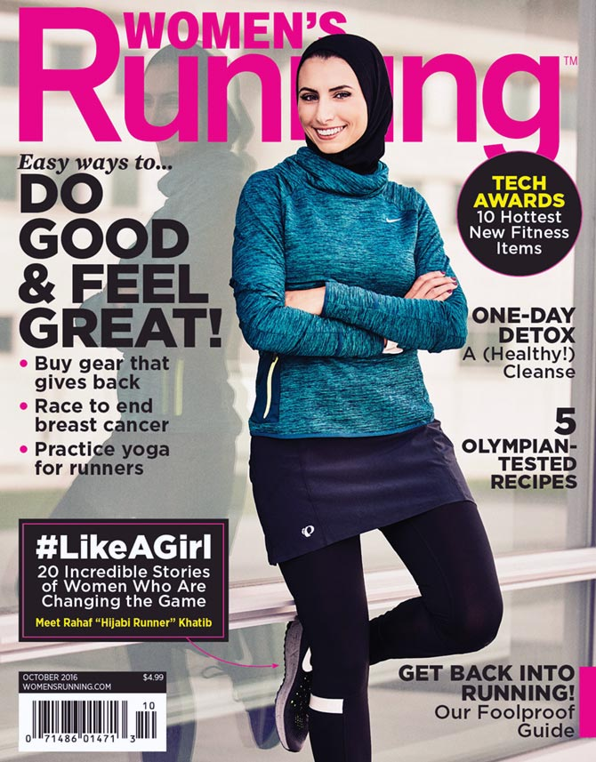 Latest News from India - Get Ahead - Careers, Health and Fitness, Personal Finance Headlines - #RunLikeAHijabi: Rahaf Khatib creates history in the US