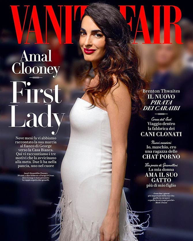 Mamma Mia! Fashion lessons from Amal Clooney - Rediff com