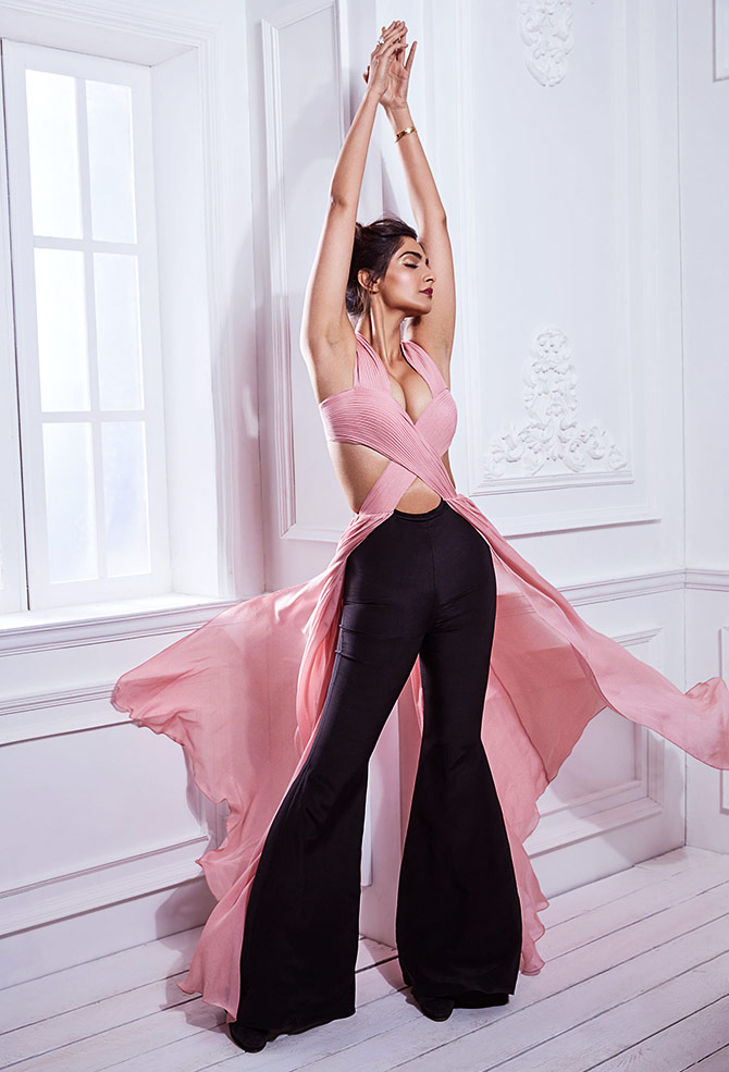 sonam kapoor for shehla khan