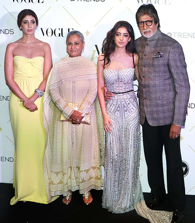 Pics: Three generations of the Bachchans in one frame - Rediff.com ...