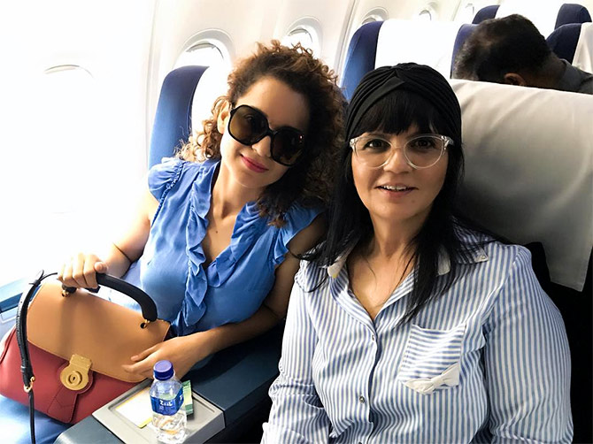 Kangana and Neeta Lulla