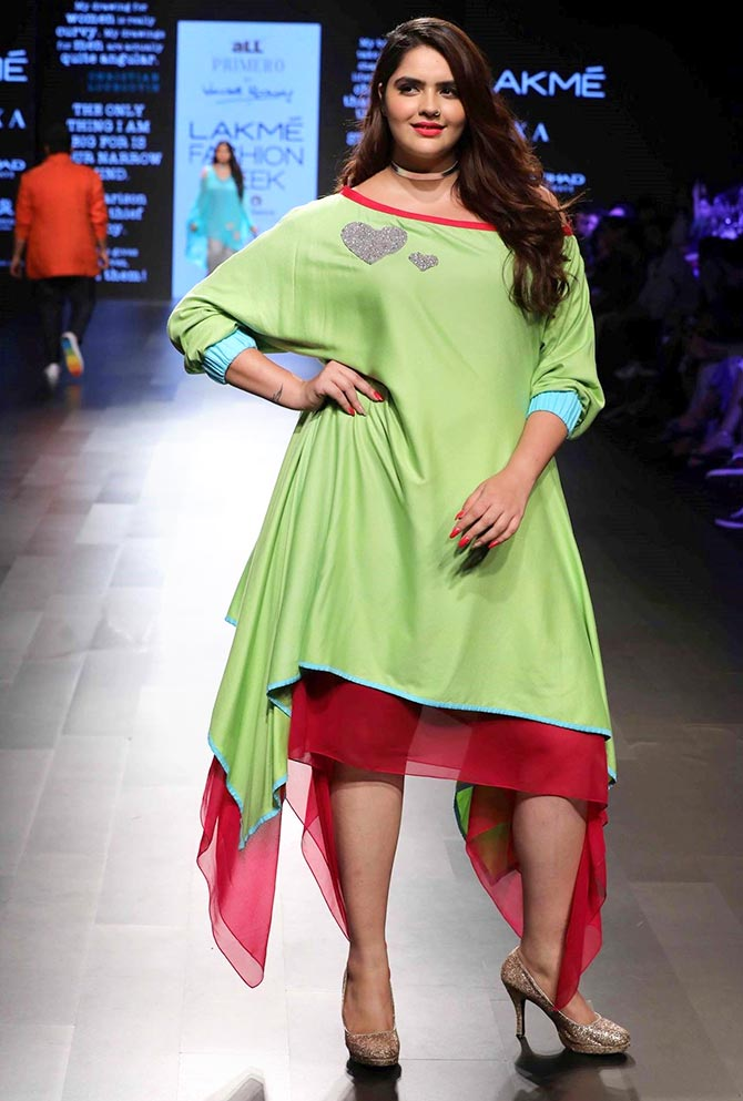933cde43fee Anjali, who walked the ramp for the all Primero collection by Wendell  Rodricks at the Lakme Fashion Week Winter/Festive 2017, said initially in  her career, ...