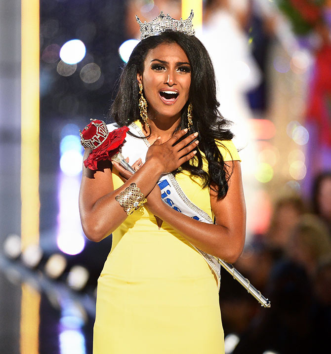 Nina Davuluri first Indian Miss America
