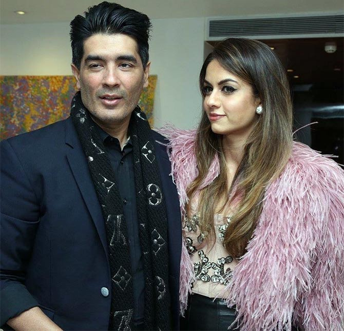 Manish Malhotra and Natasha Poonawalla