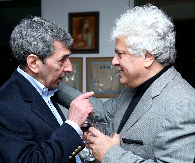 Suhel Seth and Roshan Seth