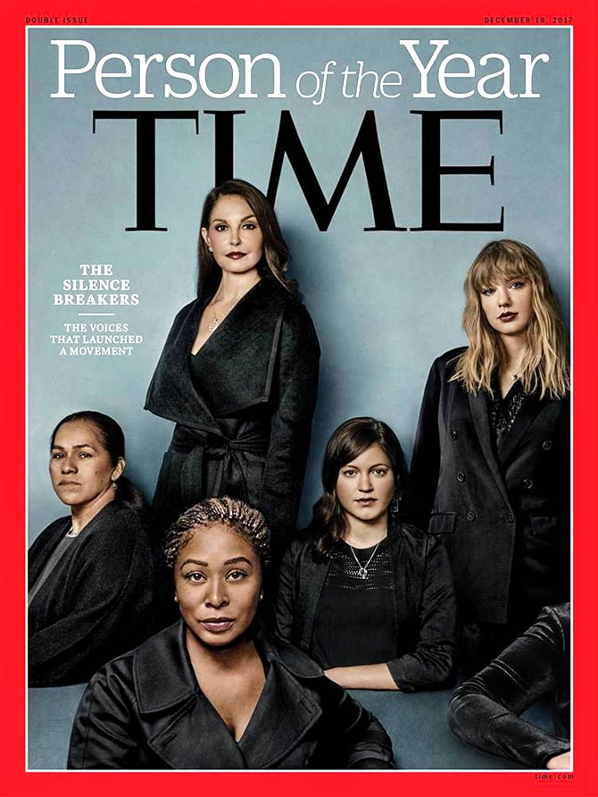 Time Person of the Year Silence Breakers