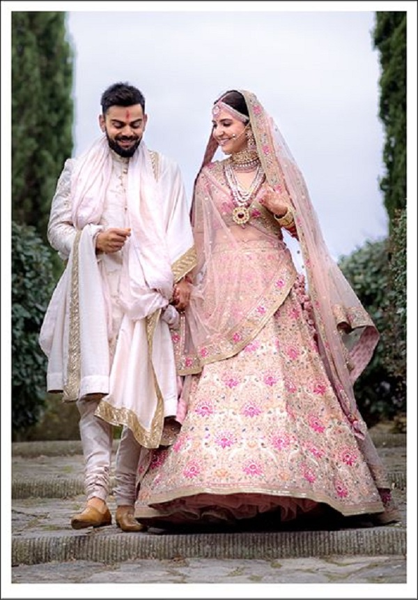 How I Designed Anushka And Virat S Wedding Wear Rediff