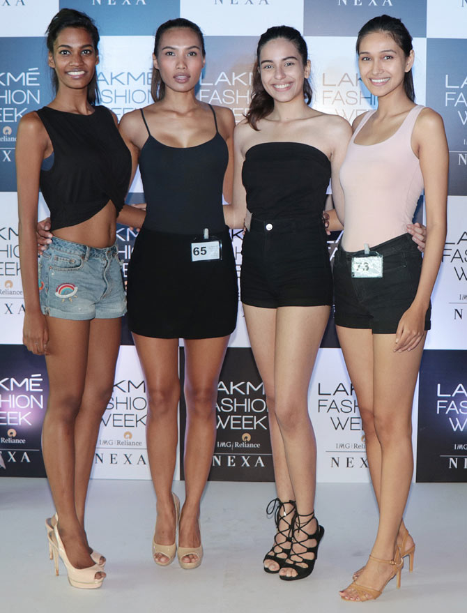 LFW model auditions