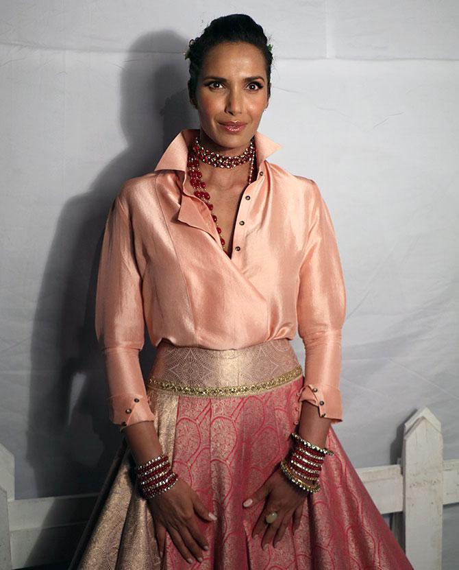 Latest News from India - Get Ahead - Careers, Health and Fitness, Personal Finance Headlines - Exclusive: Mesmerising Padma Lakshmi 'I felt like a Mughal bride'