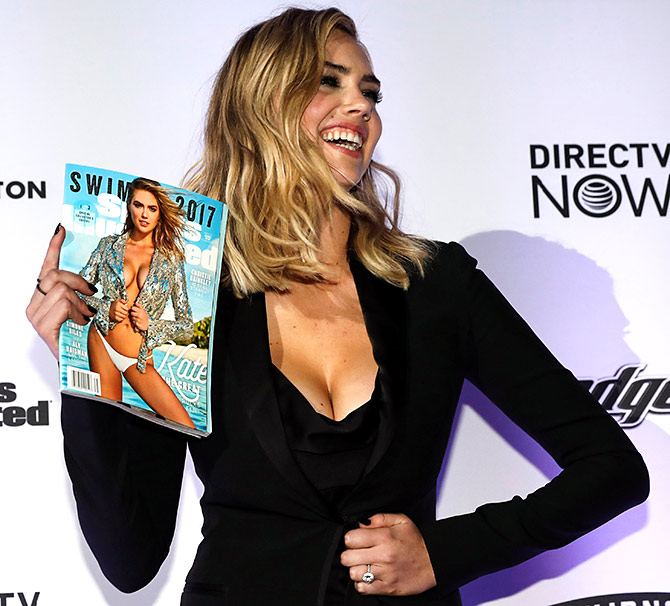 Latest News from India - Get Ahead - Careers, Health and Fitness, Personal Finance Headlines - Hot pics: Kate, Ashley at swimsuit mag launch
