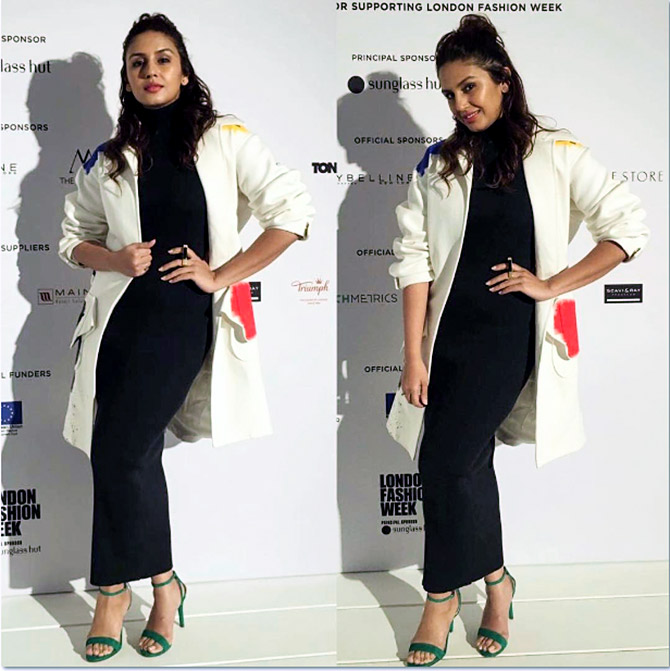 Image Huma Qureshi Was There To Attend The Teatum Jones Show Which Opening Of Fashion Week Photograph Kind Courtesy
