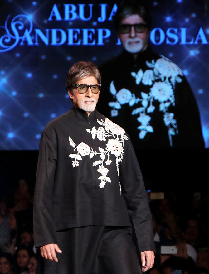 Latest News from India - Get Ahead - Careers, Health and Fitness, Personal Finance Headlines - When Amitabh Bachchan did a runway dance!