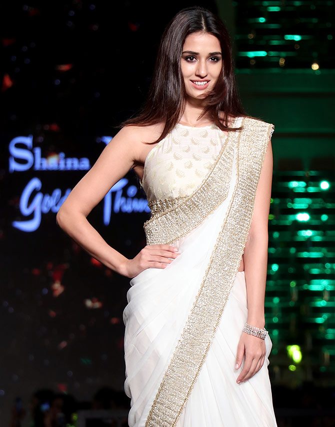 Latest News from India - Get Ahead - Careers, Health and Fitness, Personal Finance Headlines - In Pics: Disha Patani divine in white