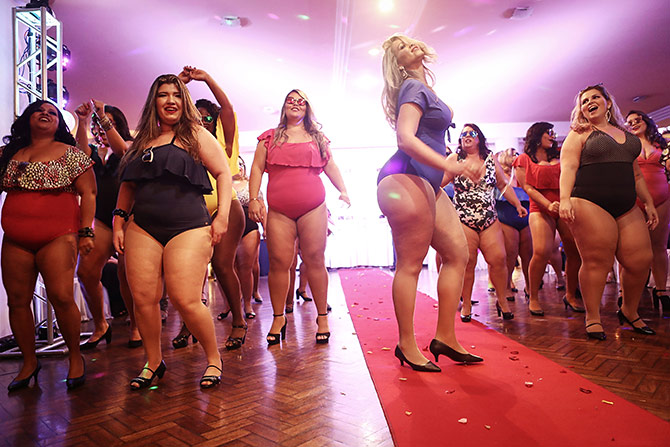 Plus size pageant