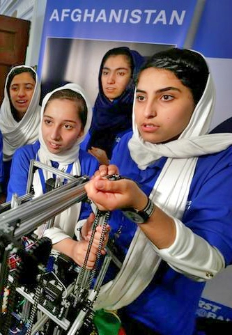 Latest News from India - Get Ahead - Careers, Health and Fitness, Personal Finance Headlines - The girls who built robots under the shadow of the Taliban