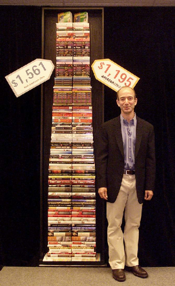 How Jeff Bezos The World S Richest Man Lives Rediff