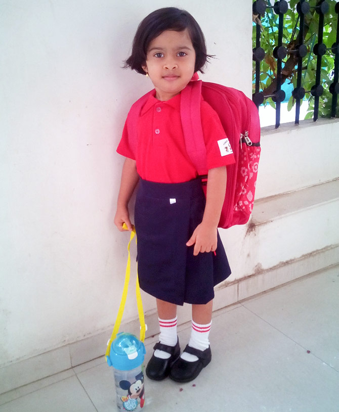 First day @ school