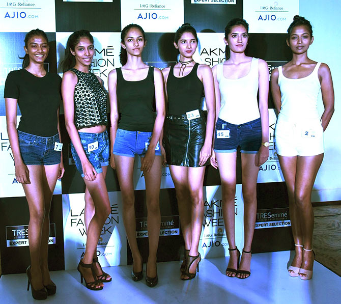 Six new faces to walk for Lakme