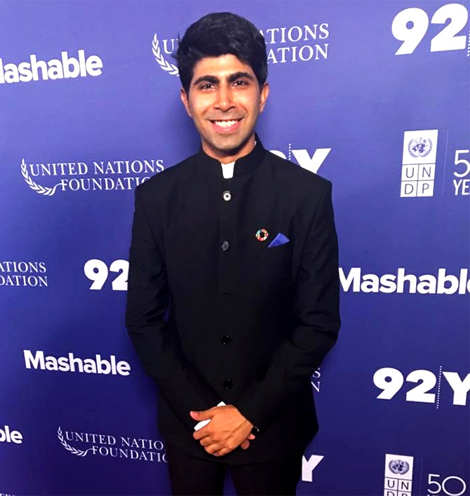 Latest News from India - Get Ahead - Careers, Health and Fitness, Personal Finance Headlines - Anti-hunger hero Ankit Kawatra to get Queen's honour