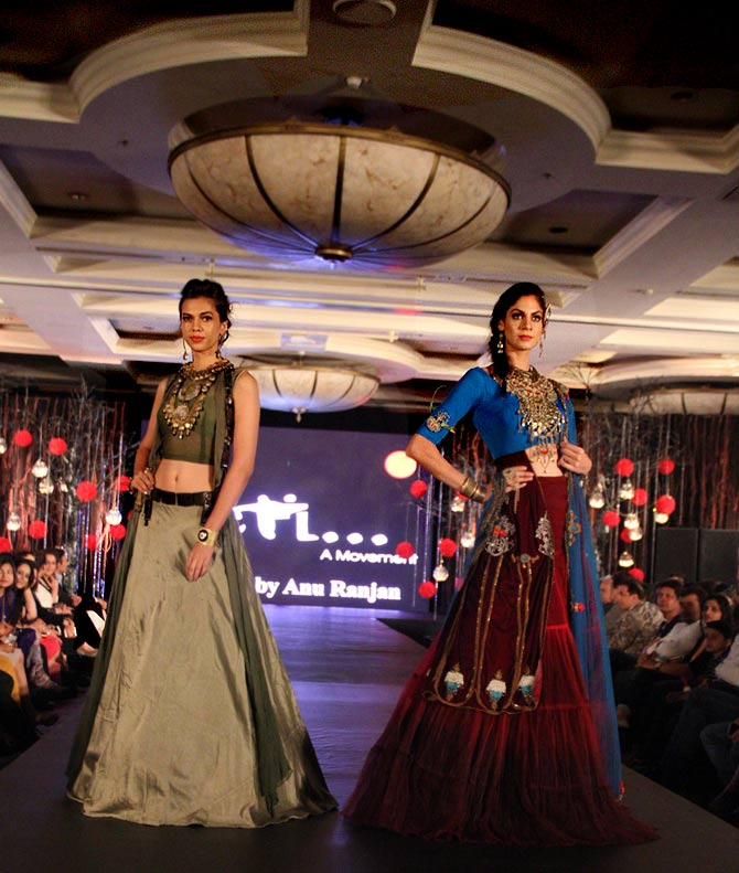 Top 10 Best Photos From The Beti Fashion Show With Tv Stars Television Digital Ott Forums