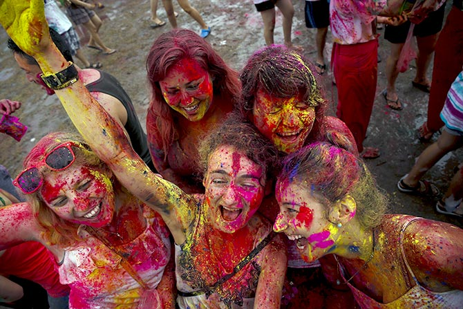 Holi across the world