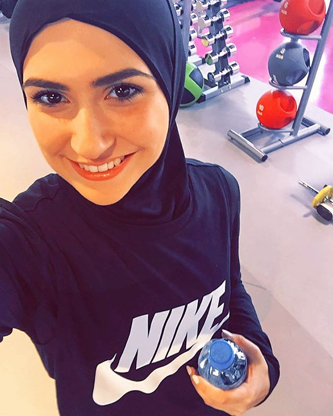 Latest News from India - Get Ahead - Careers, Health and Fitness, Personal Finance Headlines - Now you can wear a Nike hijab!