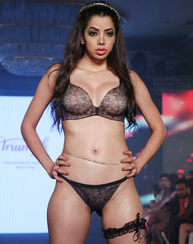 Triumph fashion show 2018 india 17