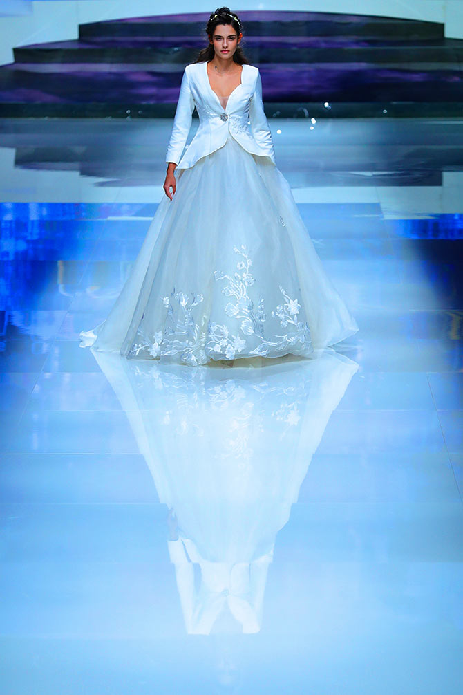 Girls, this could be your dream wedding gown - Rediff.com Get Ahead