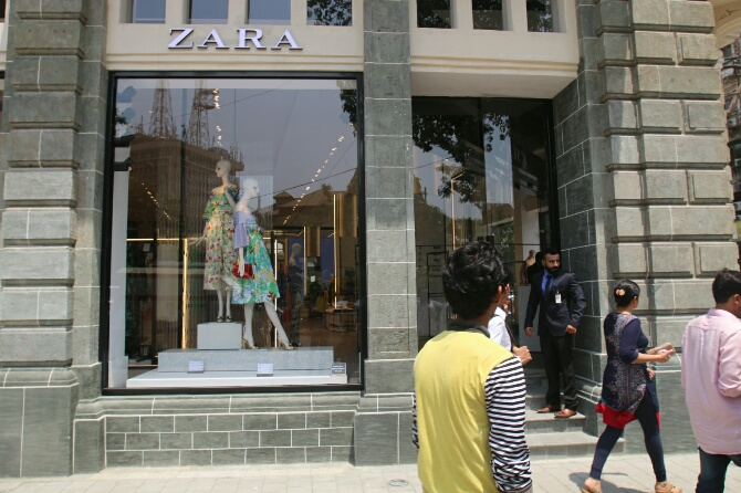 zara launches largest store in mumbai