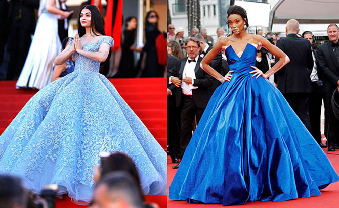 cannes style poll who wore it better rediff com get ahead