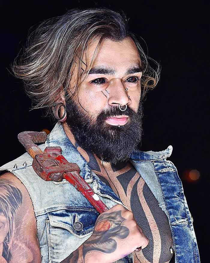 Latest News from India - Get Ahead - Careers, Health and Fitness, Personal Finance Headlines - EXTREME BODY ART: Meet the first Indian to get his eyeballs tattooed!