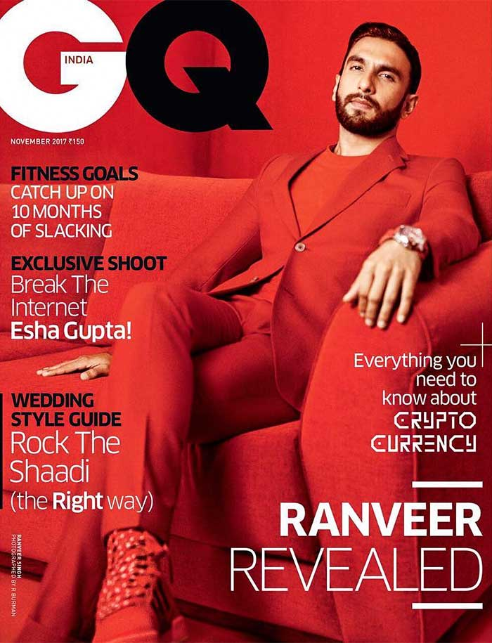 Latest News from India - Get Ahead - Careers, Health and Fitness, Personal Finance Headlines - Men, would you dare to wear red like Ranveer?