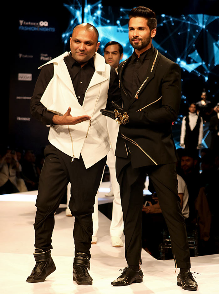 Gaurav Gupta and Shahid Kapoor