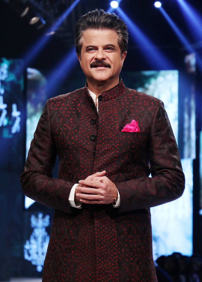 Latest News from India - Get Ahead - Careers, Health and Fitness, Personal Finance Headlines - Anil Kapoor's jhakaas moment on the ramp
