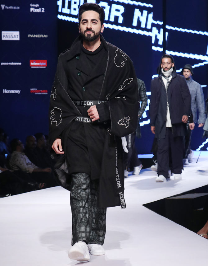 Latest News from India - Get Ahead - Careers, Health and Fitness, Personal Finance Headlines - When glamour meets winter: Ramp lessons from Ayushmann