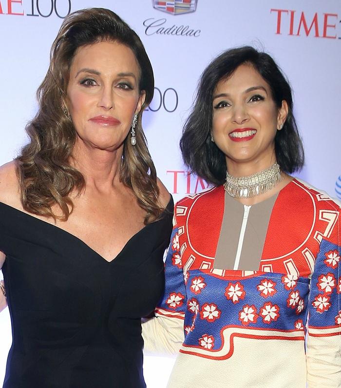 Radhika Jones and Caitlyn Jenner