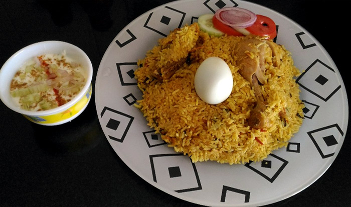 Rediff Foodies: Mouth-watering pix of biryani, spicy chicken