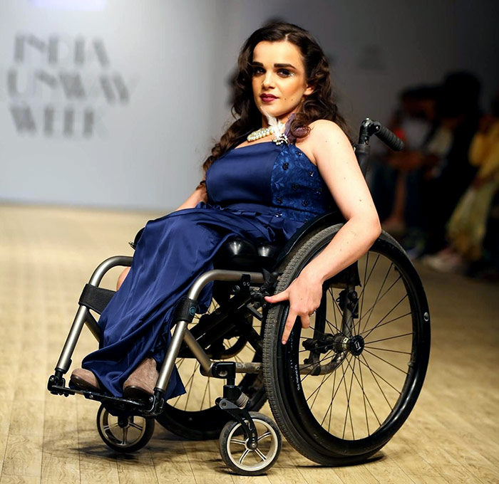 Latest News from India - Get Ahead - Careers, Health and Fitness, Personal Finance Headlines - She's the world's first fashion model on a wheelchair
