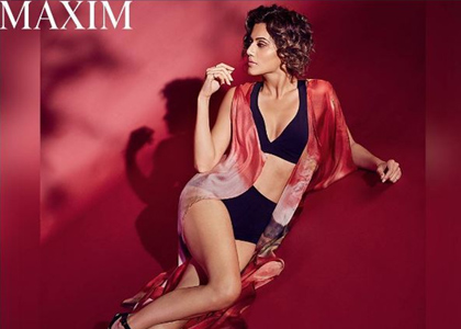 Latest News from India - Get Ahead - Careers, Health and Fitness, Personal Finance Headlines - Taapsee's racy cover will make you blush