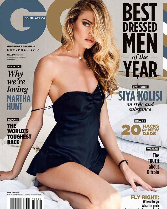 Latest News from India - Get Ahead - Careers, Health and Fitness, Personal Finance Headlines - Martha Hunt scorches on GQ cover