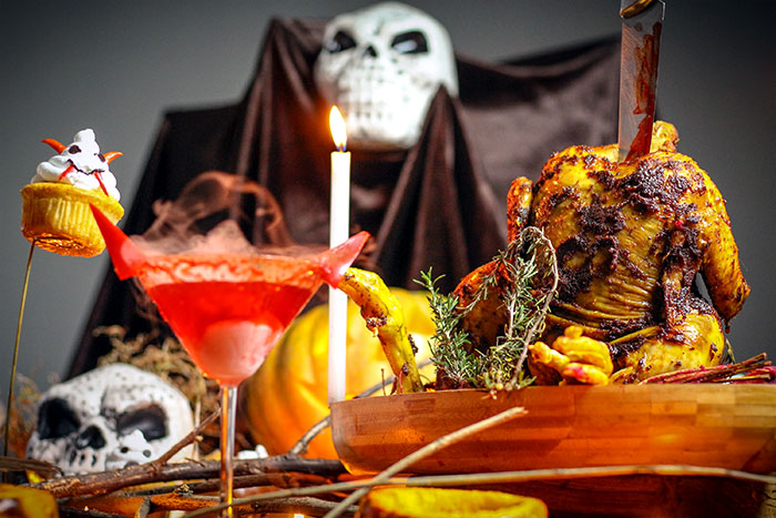 Halloween recipes: Spooky muffins and chicken roast
