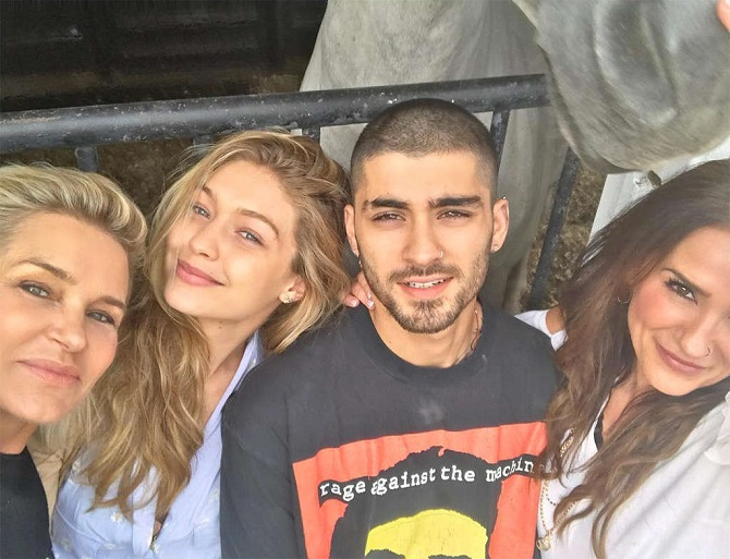 Gigi Hadid and Zayn Malik Eid