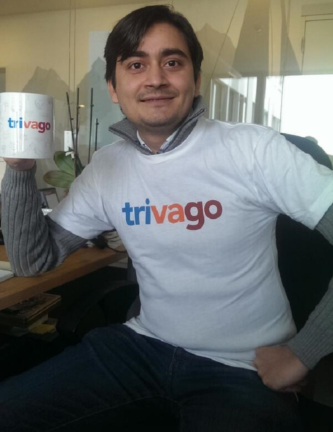 The Trivago Ad Guy Is S Country Manager Rediff Get Ahead