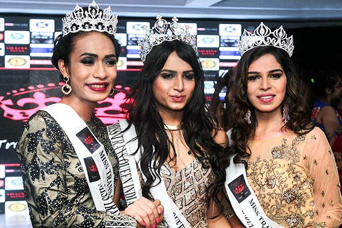 The Miss TransQueen India 2017 contest