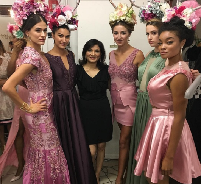 Premal Badiani New York Fashion Week Breast Cancer