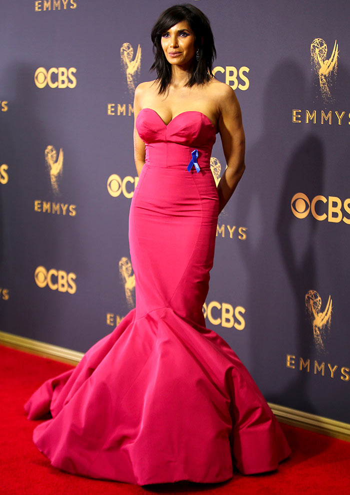 Emmys Like Padma Lakshmis New Hair Cut Rediff Get Ahead
