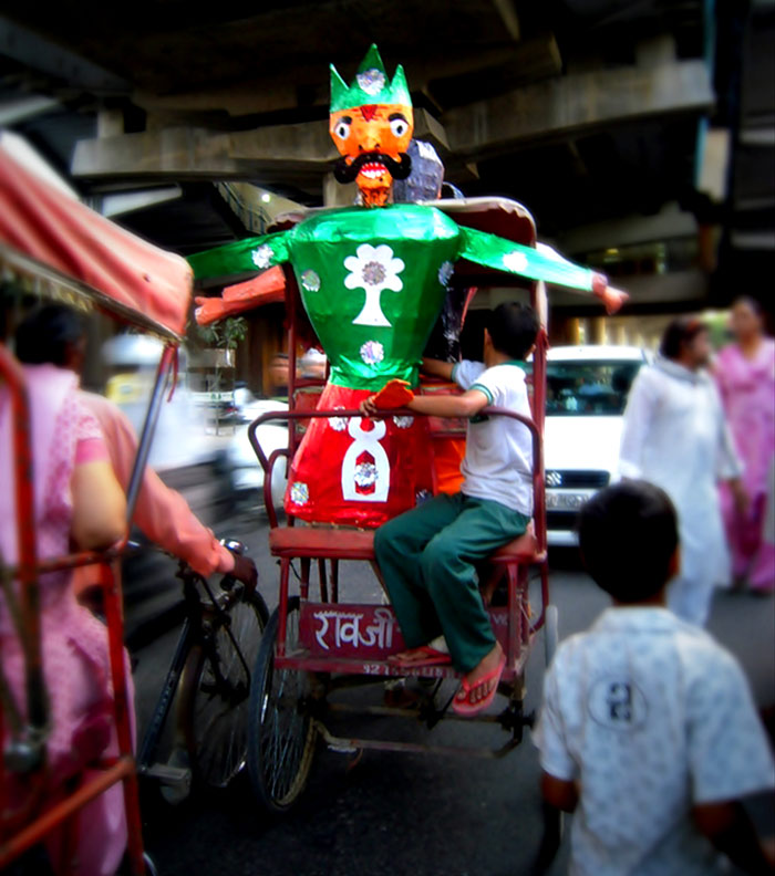 Transporting a Ravan