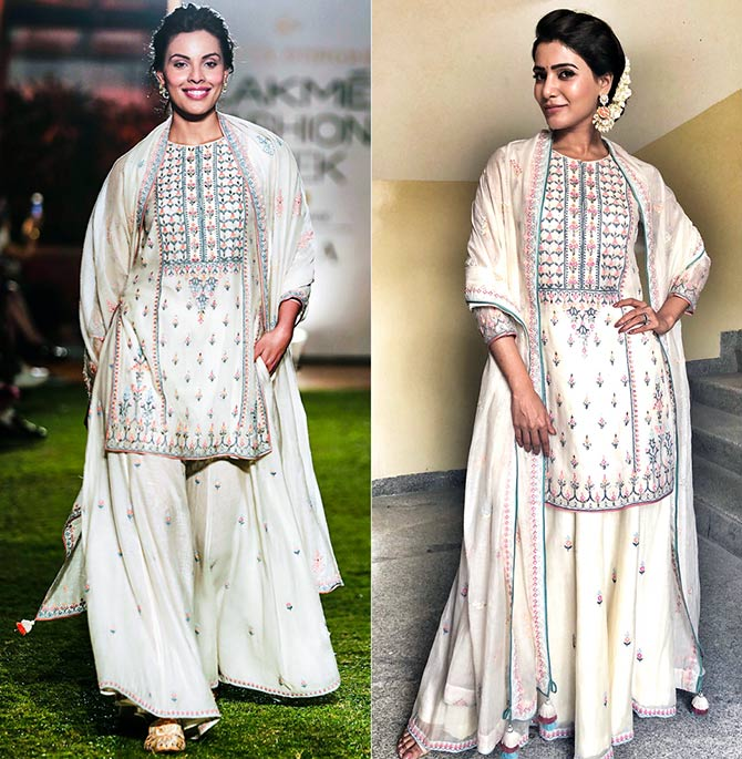 Latest News from India - Get Ahead - Careers, Health and Fitness, Personal Finance Headlines - Who wore it better: Samantha Akkineni or Deepti Gujral?