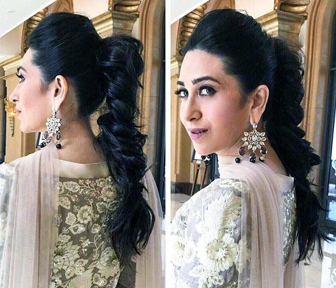 Pix Hairstyle Masterclass With Karisma Kapoor Rediff